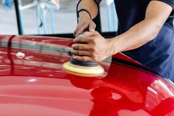 Car paint correction Launceston